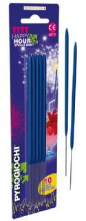 15.5cm Bright Blue Sparklers (Pack of 10)